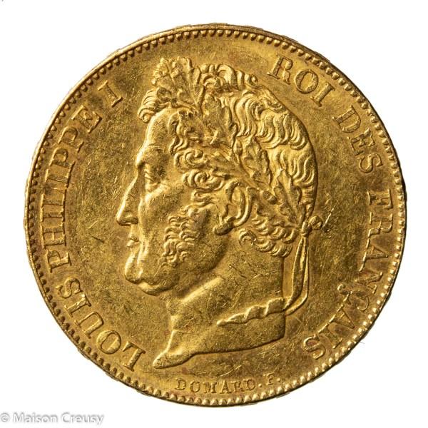 Louis Philippe 20 francs 1848 A