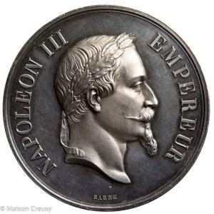 NapIII-MedailleHaras1869