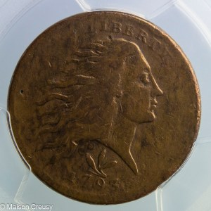USA 1 cent 1793