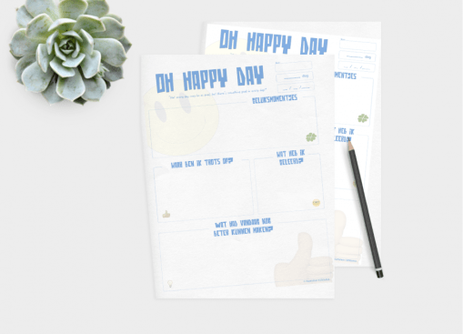 oh happy day printable