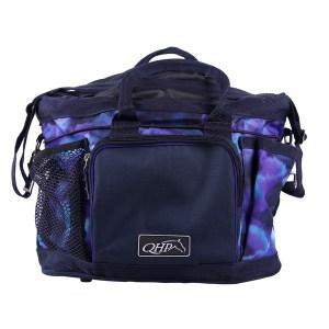 Harjalaukku, QHPTyylikäs harjalukku, jossa on tarpeeksi tilaa kaikille hoitotarvikkeillesi. Monien taskujen avulla voit säilyttää paljon purkkeja.