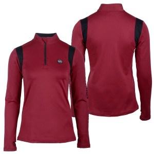 """Termo treenipaita,Qhp Tällä lämpimällä pitkähihaisella paidalla on urheilullinen ilme, vasemmassa hihassa on teksti """"Equestrian Sports"""""""