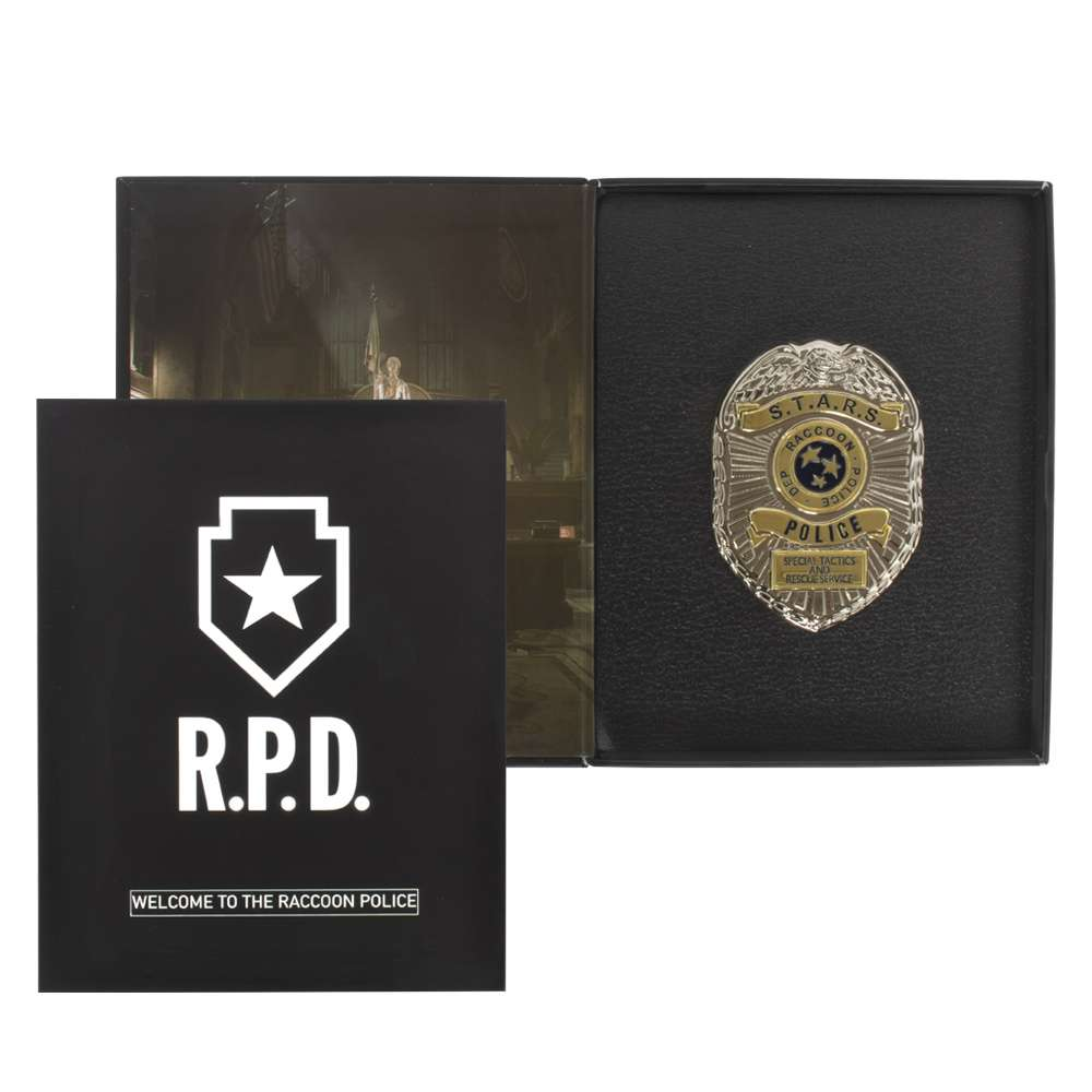 Resident Evil 2 STARS Limited Edition Collectors Pin Badge Numskull