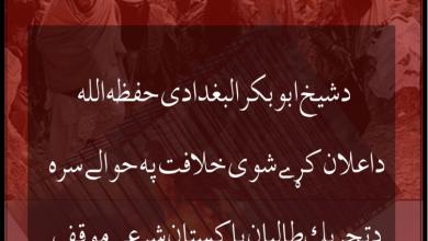 Photo of «د ابوبکر بغدادي د خلافت په اړه د پاکستاني طالبانو دريځ» کتاب خپور شو