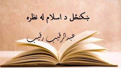 Photo of ښکنځل د اسلام له نظره؟