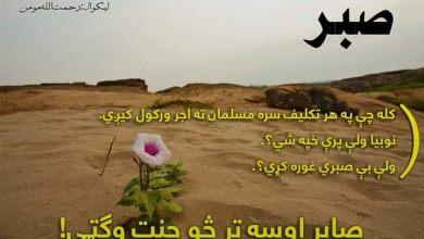 Photo of صابر اوسه تر څو جنت وګټې!