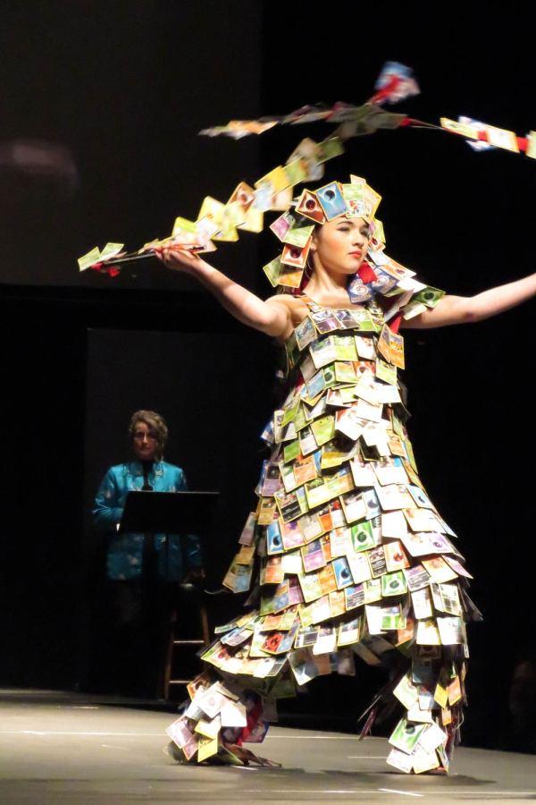 Emillia Nunn In Wearable Art Show