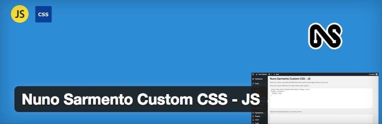 Nuno Sarmento Custom CSS - JS
