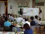 私たちが考える公共施設再配置案…芋井地区の市民ワークショップより