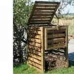 le compostage bio écolo pour récolter un compost propre à l'aide de palette non traitée