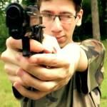 clip maniement arme calibre militaire entrainement