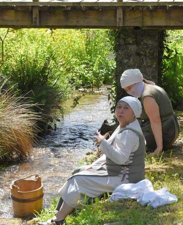 au village historique de Montcornet, il y a un jolie étang