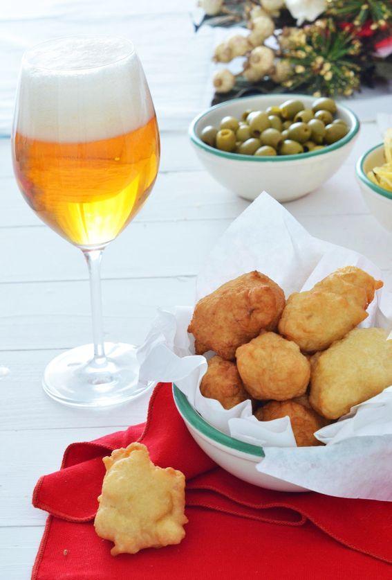 Le pettole salate ricetta della tradizione con baccalà