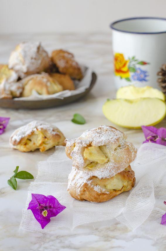 Biscotti morbidi alle mele e cannella senza burro