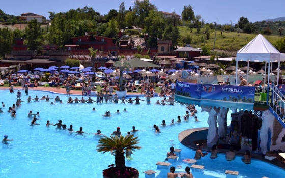 Nuotare in piscina in provincia di Benevento
