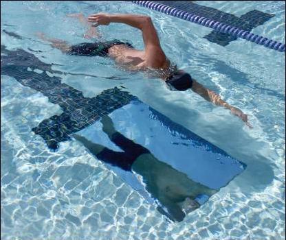Specchio tecnica allenamento nuoto esercizi