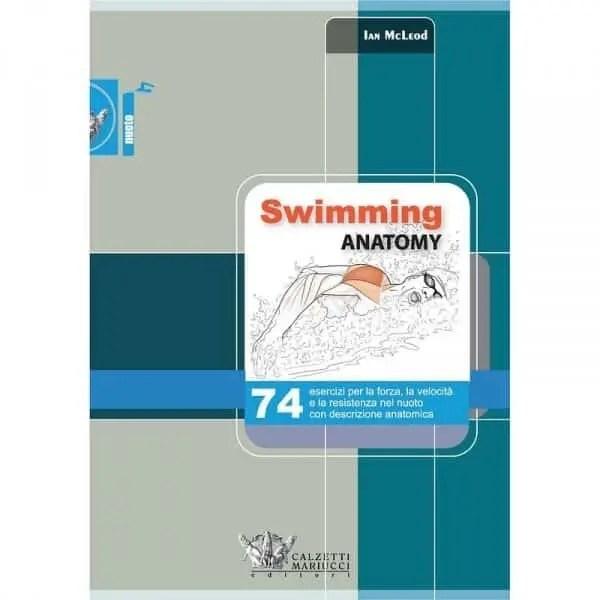SWIMMING ANATOMY libro italiano nuoto anatomia esercizi a secco swimmershop