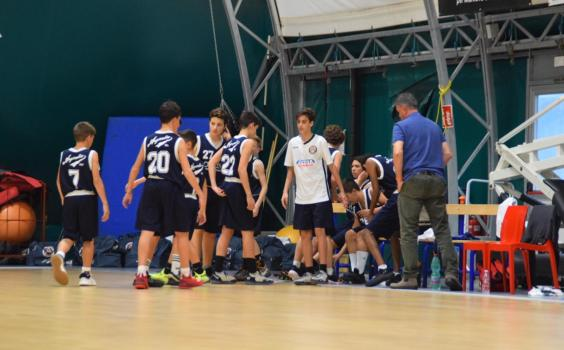 Seconda giornata campionato U14 TOP 1 – San Pio X Mantova vs Argentia Bianchi (75 – 50)