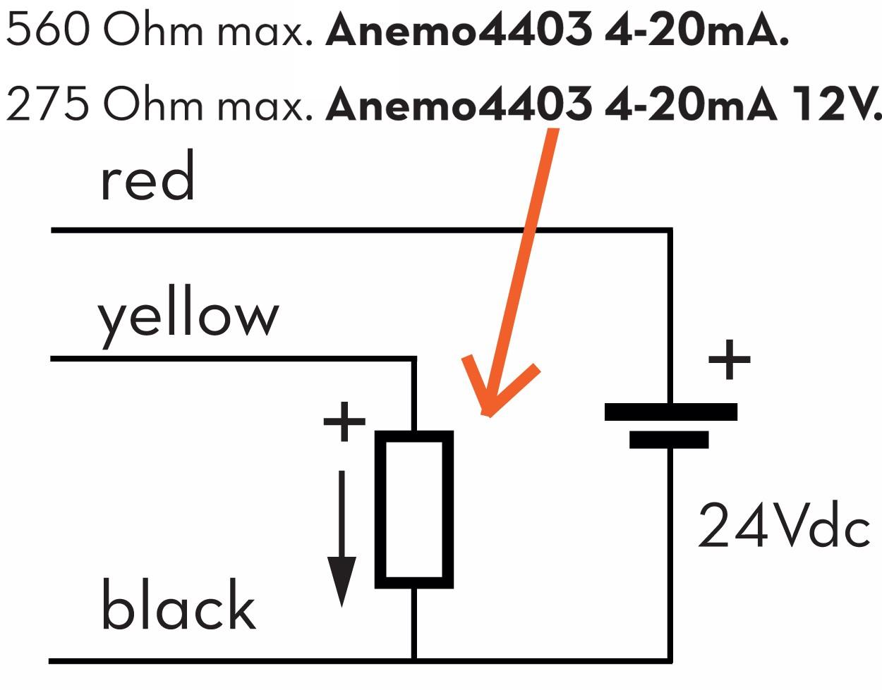 Anemo Rotating Anemometer Sensorogic Output