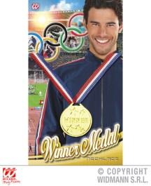 Medaglia vincitore - cod. 9576W - 2,00 €