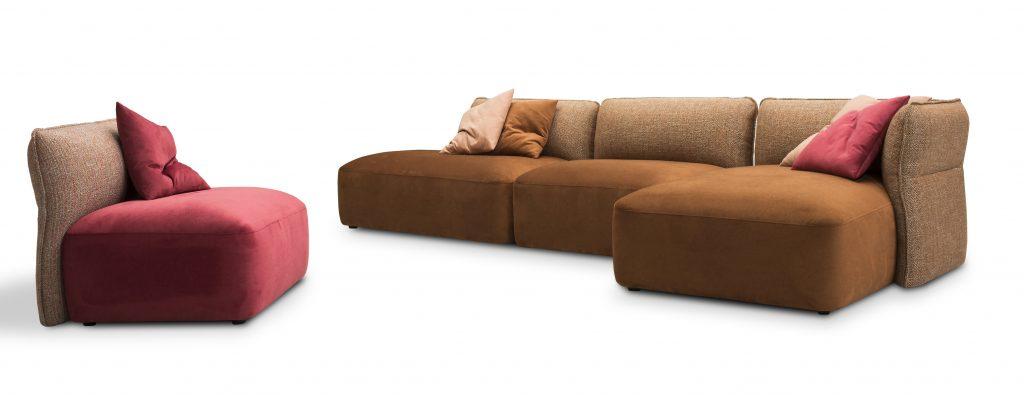 divano modulare borger - nuova tag - cassano magnago varese