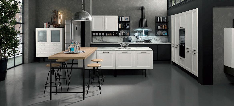 Cucine open space moderne ambiente cucina soggiorno