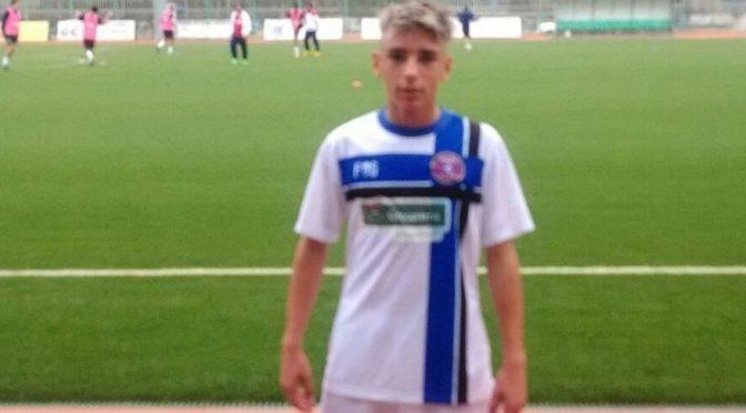 Antony Castro del Racing Fondi convocato dall'Under 15 Serie C