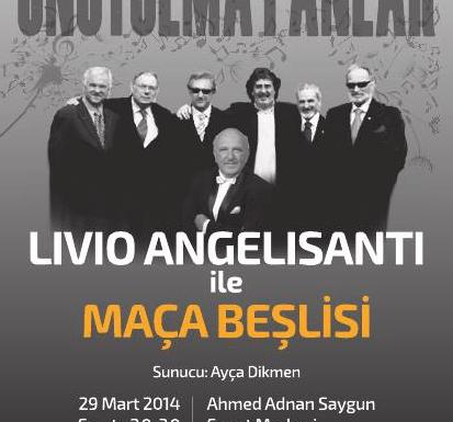 Maça Beşlisi - 29 Marzo 2014 Ore 20.30 - Adnan Sayigun Sanat Merkezi
