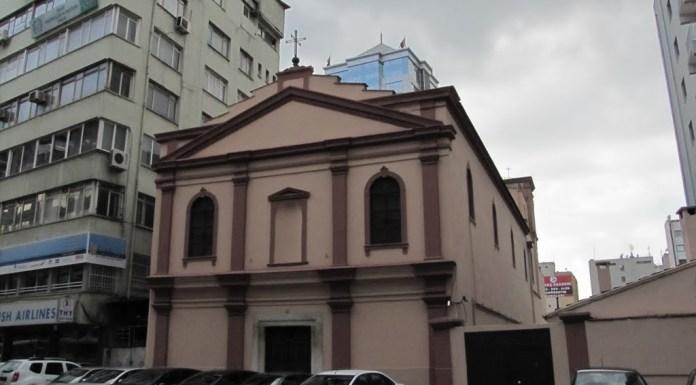 Chiesa di Santa Maria - Pasaport - Izmir