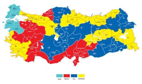 mappa 4 - distribuzione generi