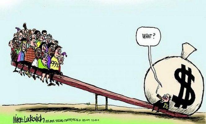 L'aumento della ricchezza e della disuguaglianza