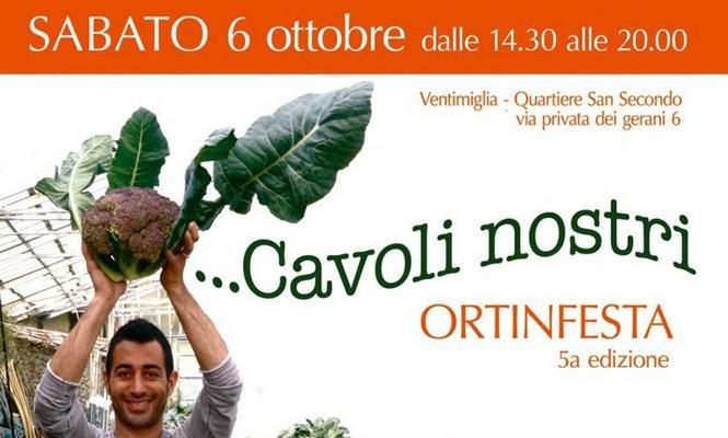A Ventimiglia la quinta edizione di Ortinfesta