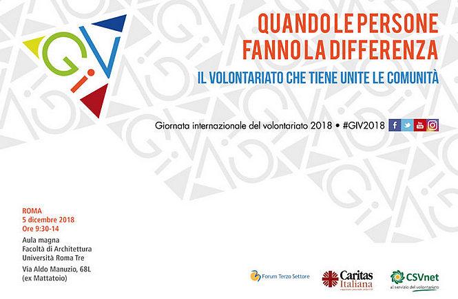 """""""Quando le persone fanno la differenza"""" – 5 dicembre, Giornata internazionale del volontariato"""