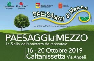 Paesaggi di Mezzo, La Sicilia dell'entroterra da raccontare @ Caltanissetta