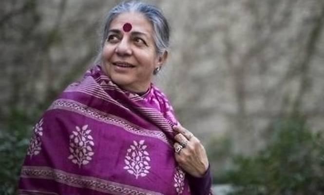 """""""L'agricoltura che fa bene al clima"""": incontro con Vandana Shiva"""