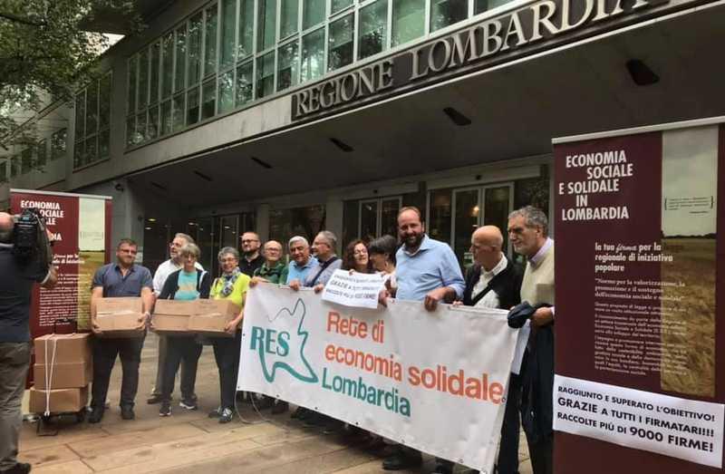 Ess Lombardia, proposta di legge