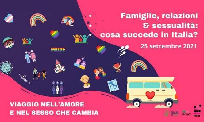 Amore, sesso, relazioni. Cosa sta succedendo in Italia? Ne parliamo il 25 settembre