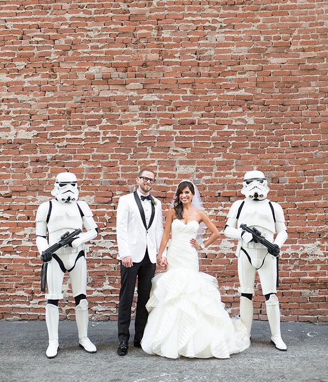Increble boda inspirada en Star Wars se vuelve viral  Nupcias Magazine