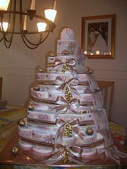 Eine Torte aus Toilettenpapier  ein lustiges
