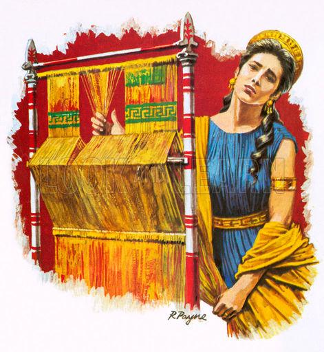 Penelope weaving