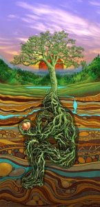 Plant yourself , the seed to become a tree