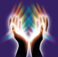 spiritual hands energy touch
