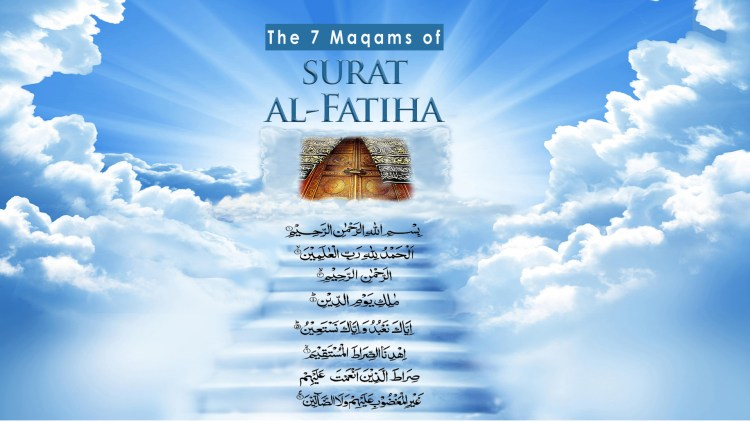 7 Maqams of Surat al-Fatiha with title large