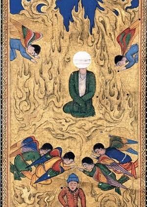 Angels sajdah – bow down to Adam, miniature 2