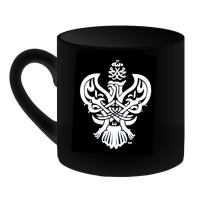 SMC black mug with Phoenix logo front