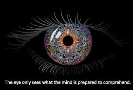 Eye Only Sees What the Mind is Prepared to Comprehend