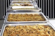 Food on Chafing dishes - Rice - Hub Rasul Program 2016