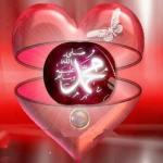 Muhammad inside the heart