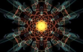 Split Atom Molecule Light Communicating