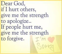 Strength to Apologize Sorry Forgive Forgiveness Tawbah 9